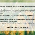 10 diciembre: Día de los Derechos Humanos