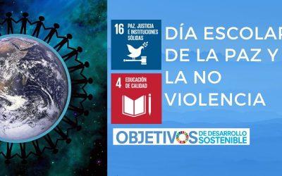 Feliz Día Escolar de la Paz y No Violencia. Hoy trabajamos el ODS 16 de la Agenda 2030