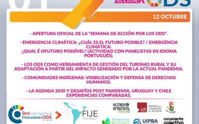 Día 1: Semana Acción por los ODS de la Red Internacional de Promotores ODS