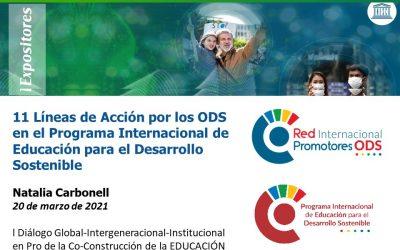 11 líneas de Acción para 17 ODS Programa Internacional EDS de RIPO