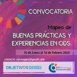 MAPEO DE BUENAS PRÁCTICAS EN ODS A NIVEL INTERNACIONAL ¿NOS CUENTAS TU EXPERIENCIA?
