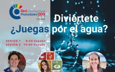 Con motivo del Día Mundial del Agua#Water2me, tendremos el Evento: ¿JUEGAS POR EL AGUA? te esperamos